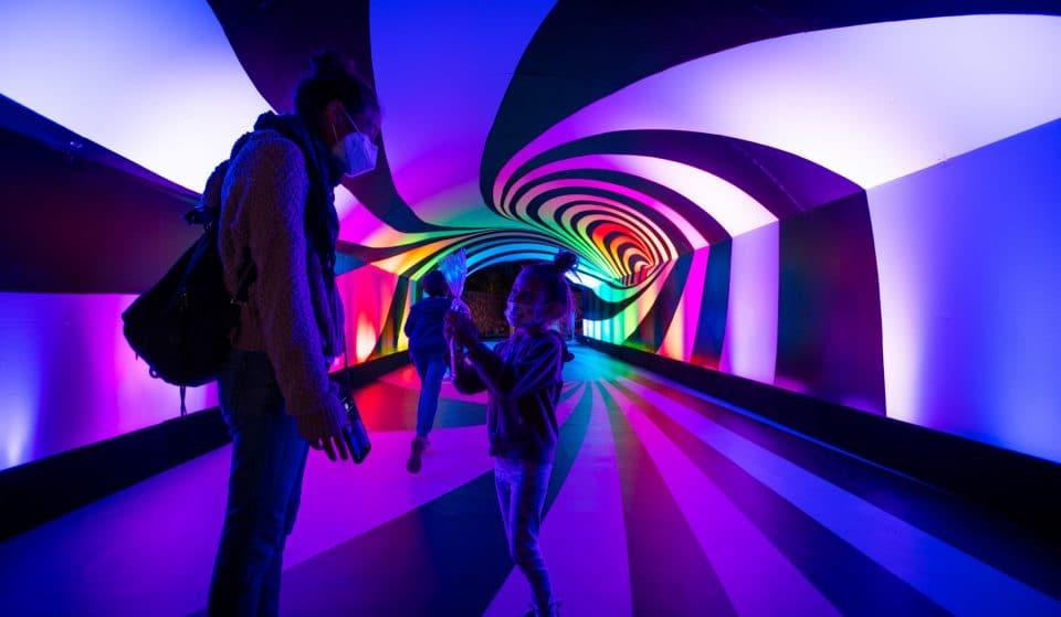 Wander Through Over 40,000 Feet Of Candy Heaven At This Kaleidoscopic Walk-Thru