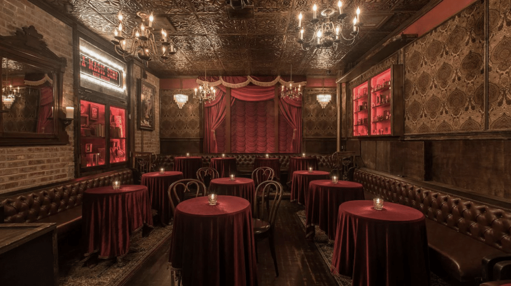 Immerse Yourself In A World Illusions & Decadent Cocktails At This Hollywood Speakeasy