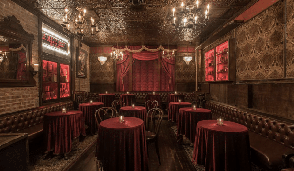 Go Down A Rabbit Hole And Immerse Yourself In A World Illusions & Decadent Cocktails