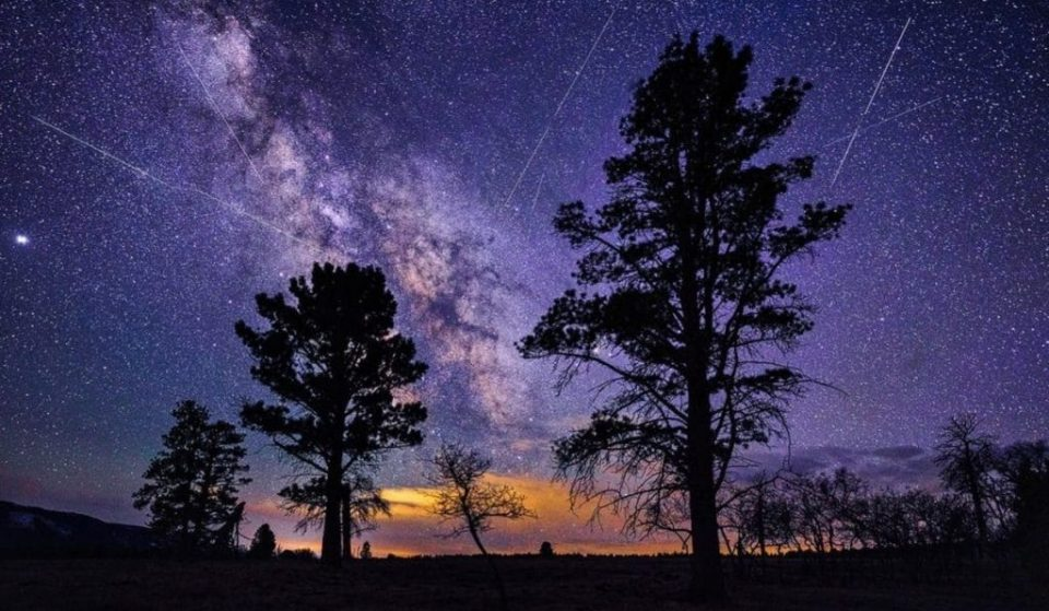 The Lyrid Meteor Shower Will Light Up The Sky Early Thursday Morning