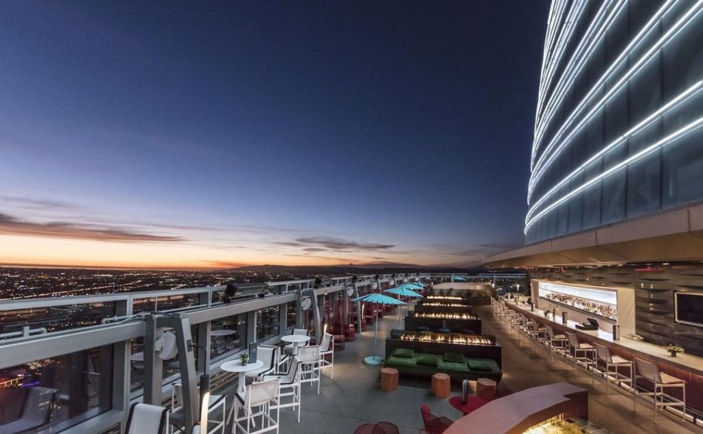 Sip On Cocktails At The Highest Open-Air Rooftop Bar In The Western Hemisphere
