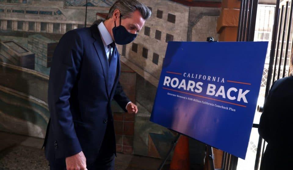 Newsom Announces $600 Stimulus Checks For Two-Thirds Of Californians