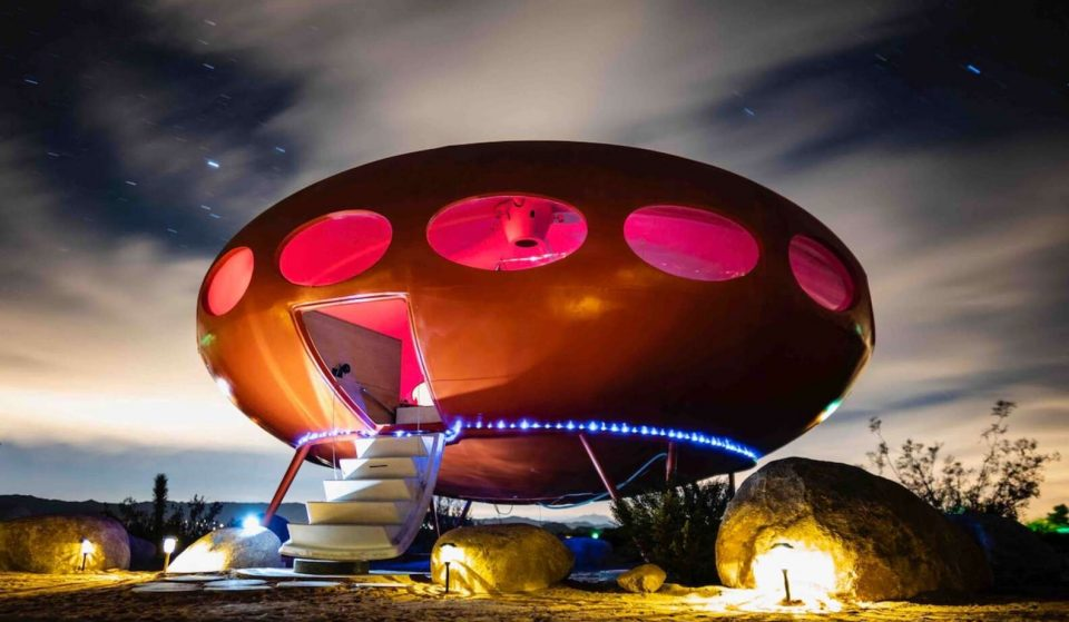You Can Stay In This Rare Mid-Century Futuro House In Joshua Tree