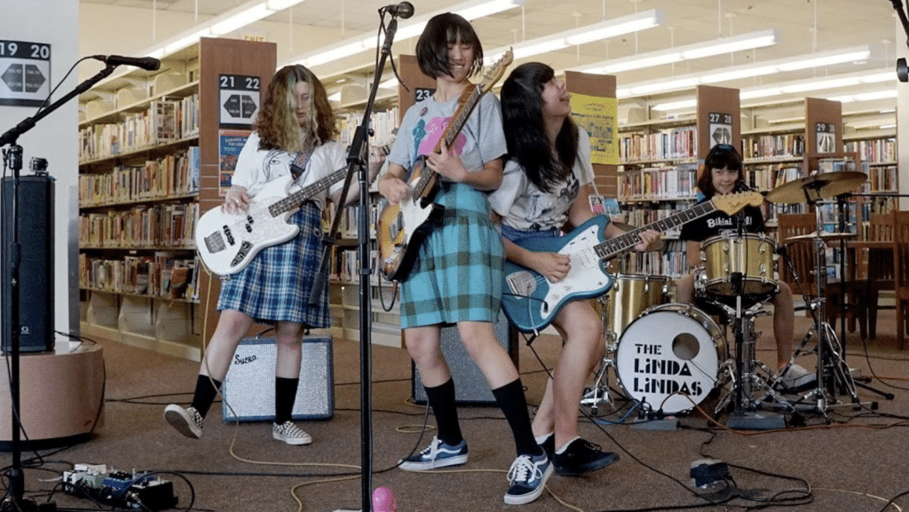 The Linda Lindas' L.A. Library Gig Goes Viral And Lands Them A Record Deal