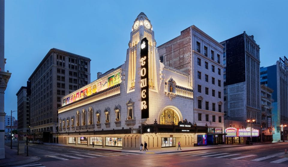 Apple's Magnificent New Downtown L.A. Store At The 1920s Tower Theatre Is Open