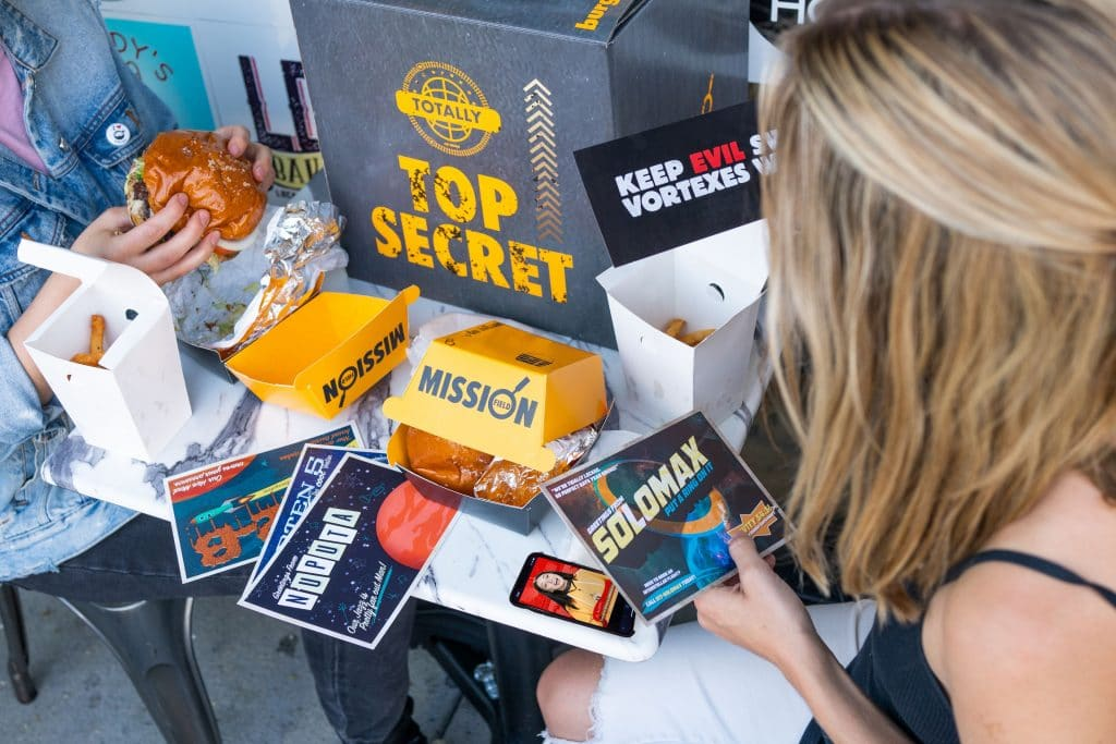 There's An Underground Burger Joint In L.A. And Every Order Transports You Into An Immersive Game World