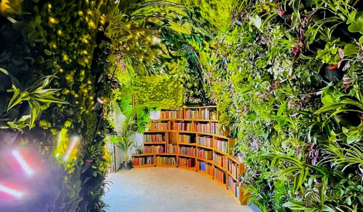 Wander Through An Enchanting Tunnel Of Plants To Find This New Bookstore In L.A.