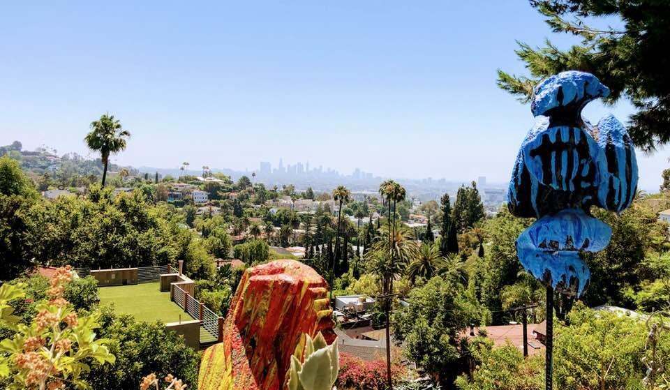 Explore Psychedelic Oddities At This Hidden Sculpture Garden In Hollywood