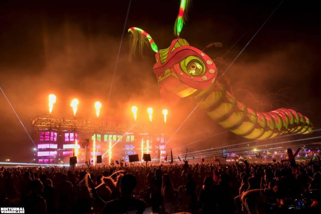 Step Into A World Of Dazzling 3D Superstructures At This Epic Electronic Dance Festival