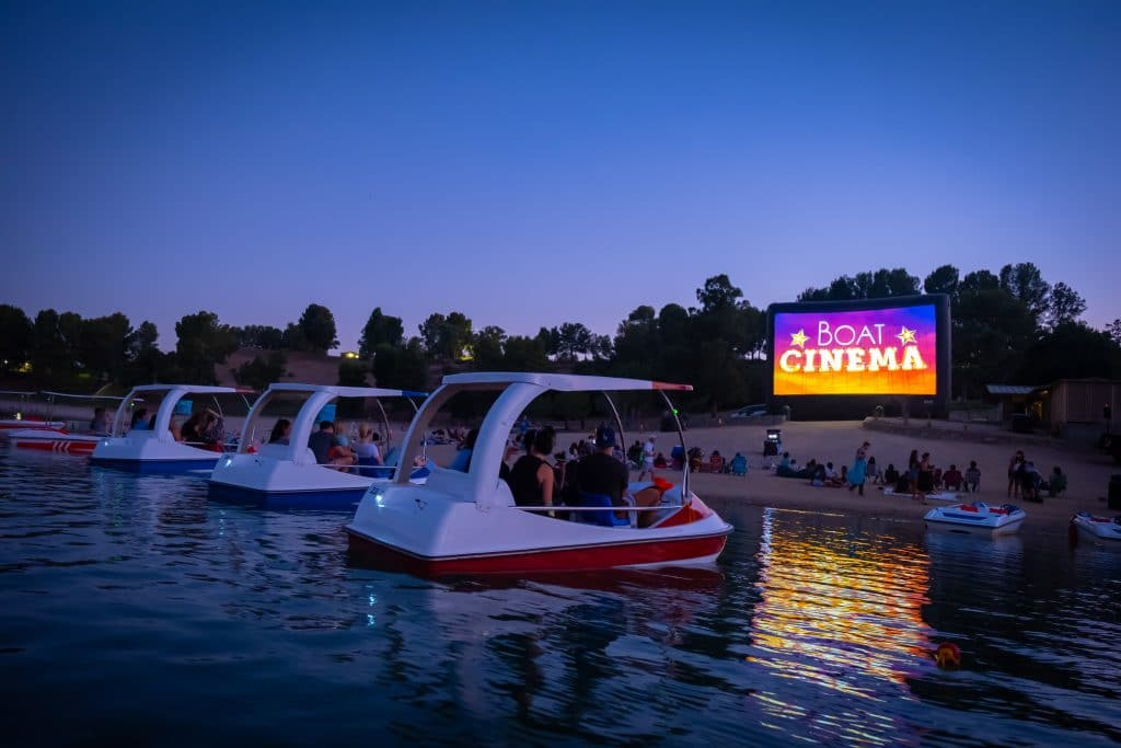 This Magical Floating Cinema Has Launched In L.A., And The Location Is Stunning