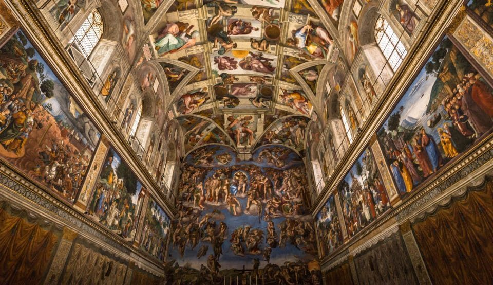 A Remarkable Recreation Of Michelangelo's Sistine Chapel Has Opened In L.A.
