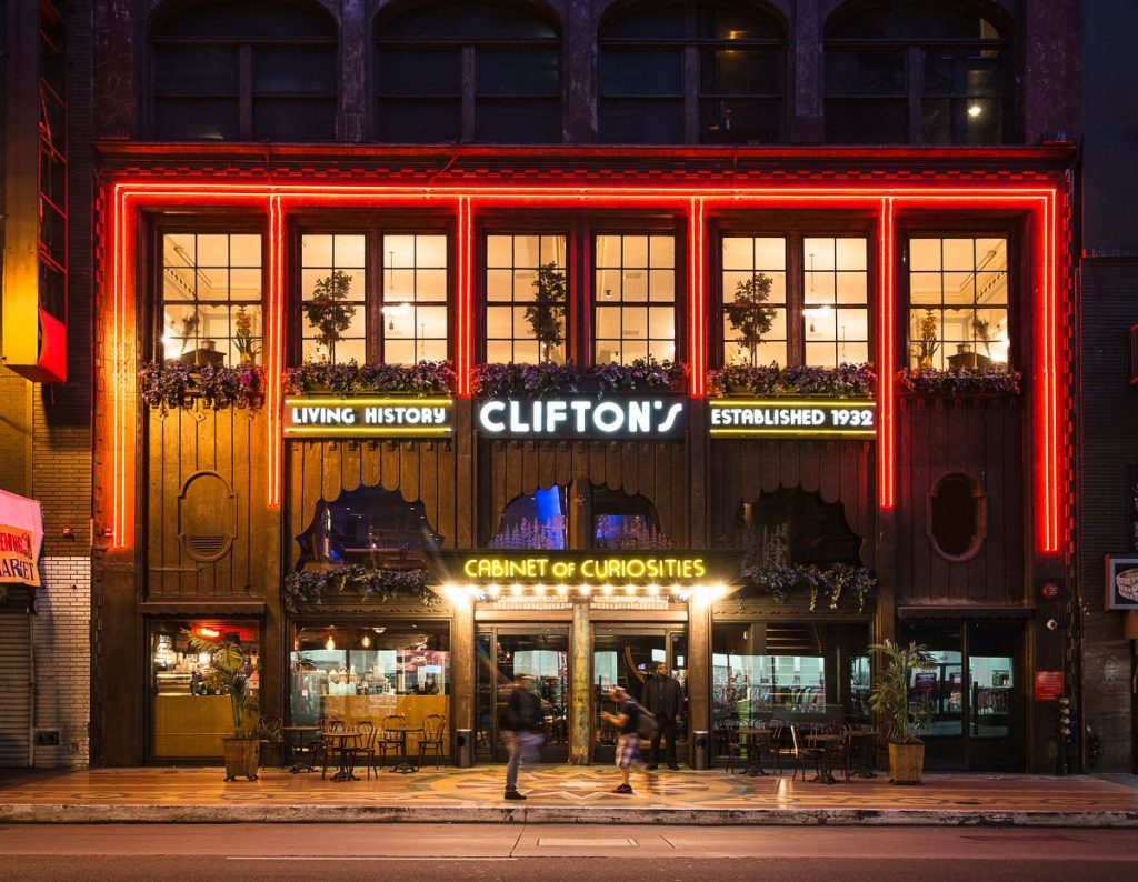 Historic Cafeteria and Bar Space Clifton's Is Set To Reopen Next Month