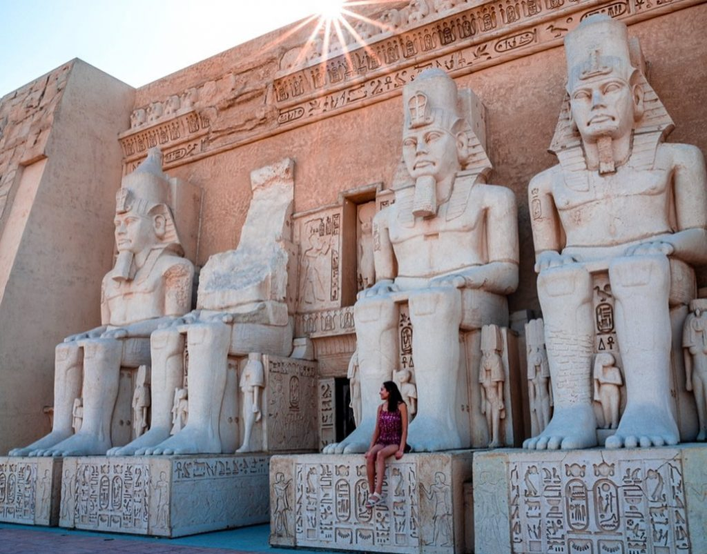 This Insane Temple Replica Is Your Egyptian Escape In Chino Hills
