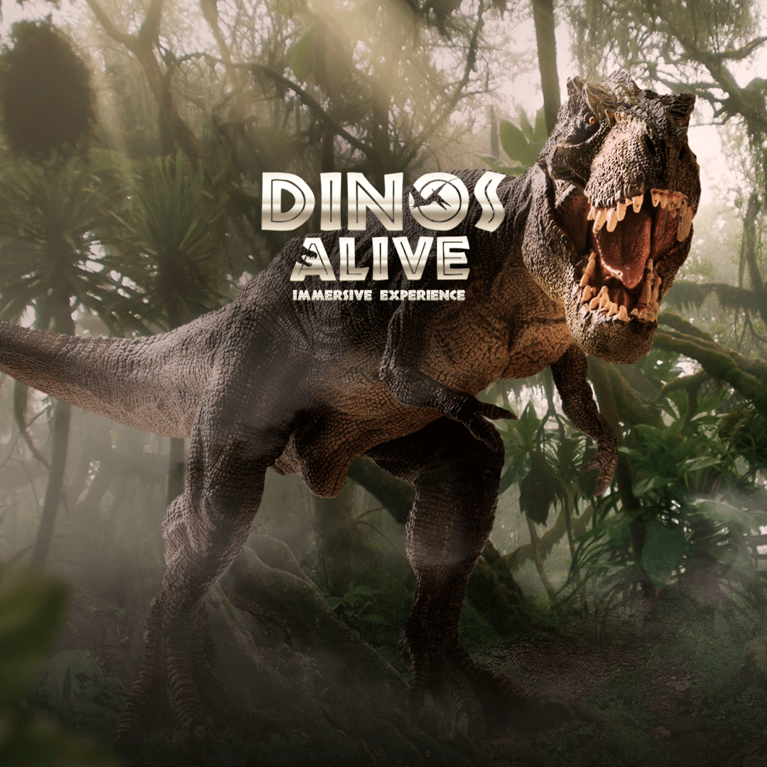 Dinos Alive Exhibit: An Immersive Experience
