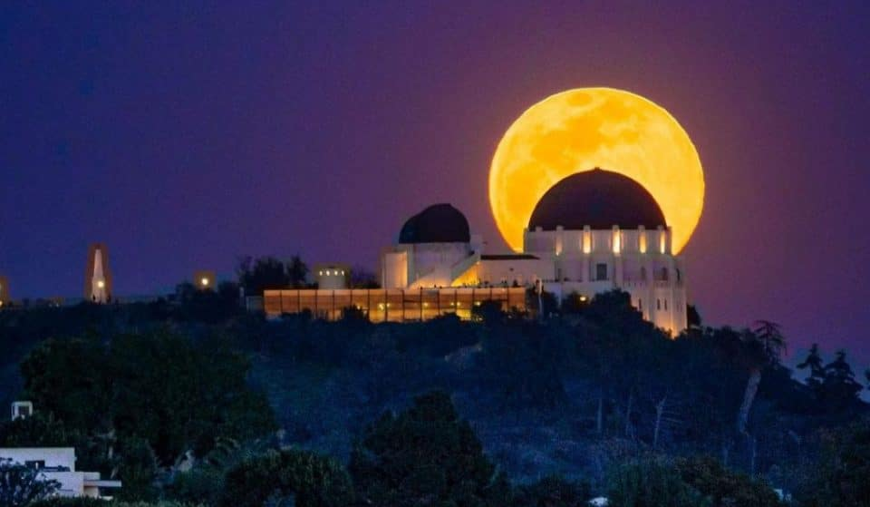 Tonight's Big & Bright 'Harvest Moon' Will Light Up L.A. Skies, Signaling Summer's End