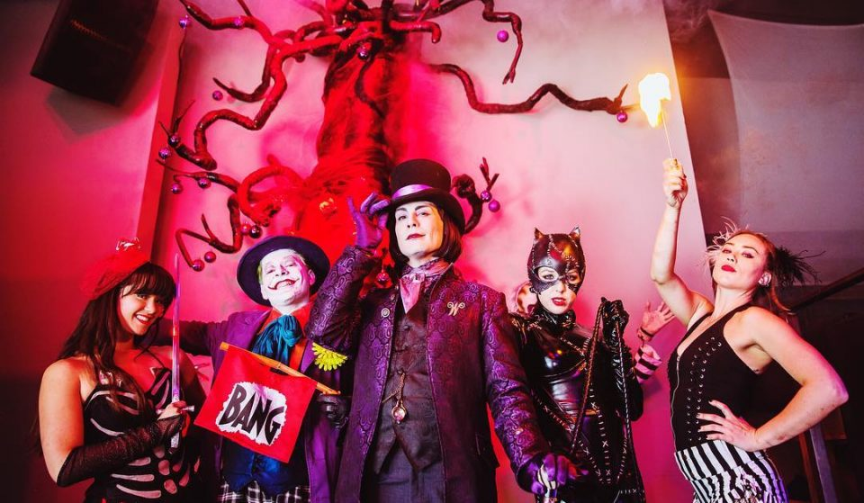 It's Halloween Every Day At This Tim Burton-Themed Bar In Hollywood