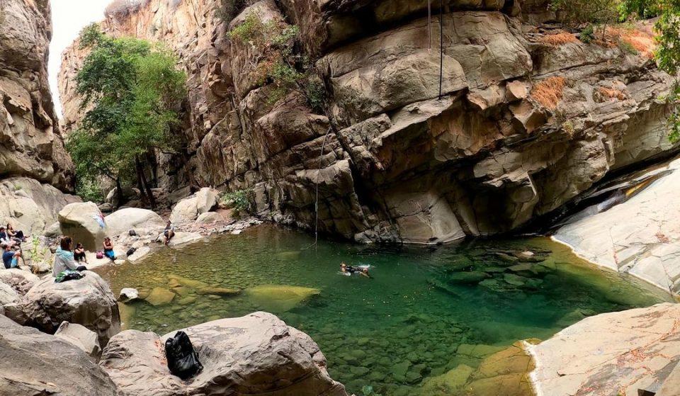 "Hike To The Beautiful ""Punch Bowls"" For A Refreshing Dip Near Santa Barbara"