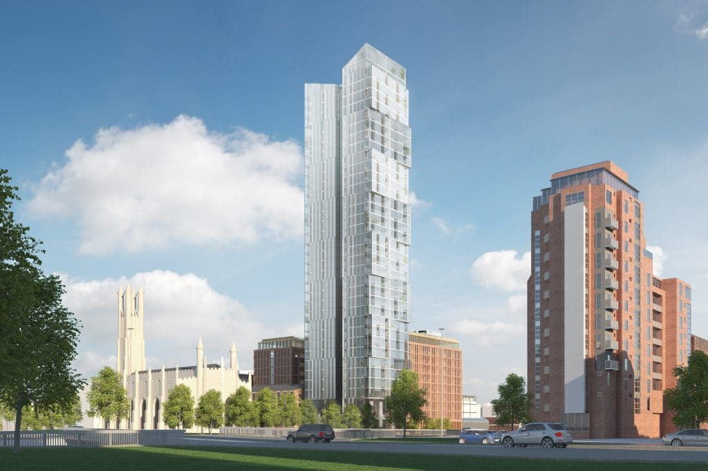 Former England Cricketer Freddie Flintoff's Plans To Build A Skyscraper In Manchester Have Been Rejected