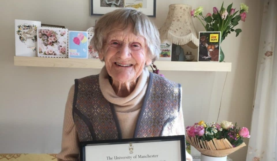 A 101-Year-Old Manchester Uni Graduate Has Received Her Certificate 80 Years Later
