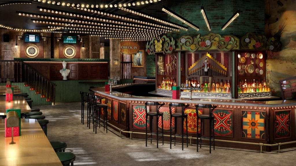 A Fairground-Inspired Darts Bar Is Coming To Manchester