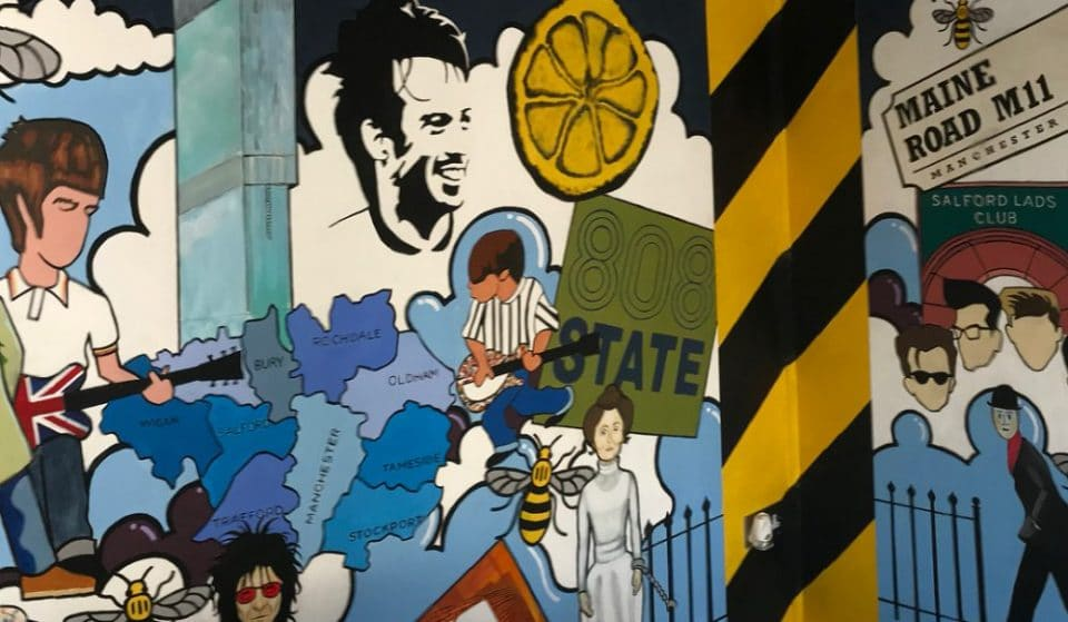 This Mural Is A Magnificent Celebration Of All Things Manchester