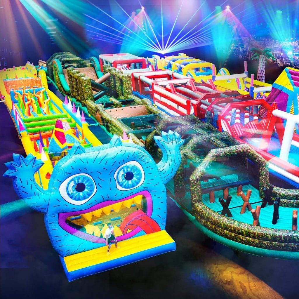 A Giant Inflatable Obstacle Course For Grown Ups Is Coming To Beyonde, Home To The Chill Factore