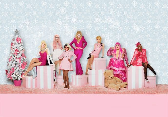 RuPaul's Drag Race Stars Will Bring Their Christmas Queens Show To Manchester
