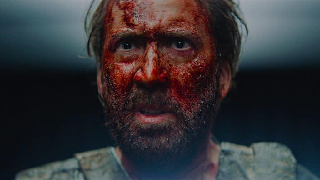 Nicolas Cage Is Fighting 'Crazy Evil' With A Chainsaw In The Wild Trailer For Mandy