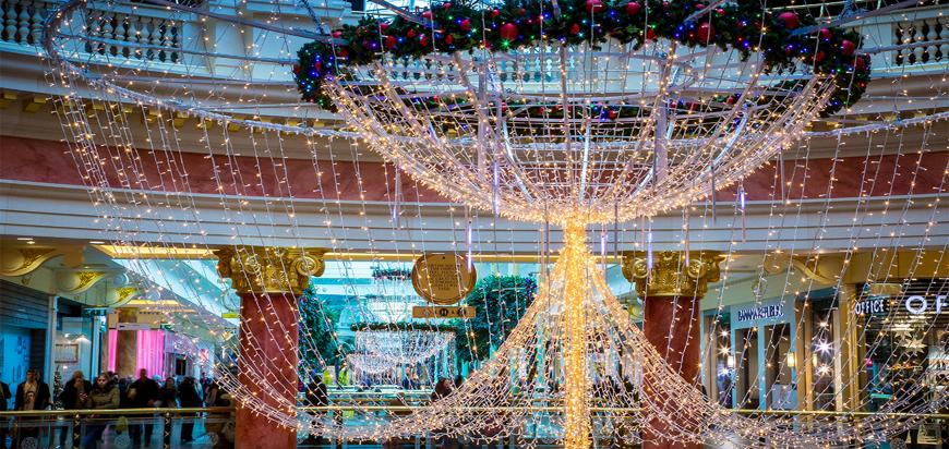 The Trafford Centre's Christmas Lights Switch On Will Feature A Live Gospel Choir Performing Christmas Classics
