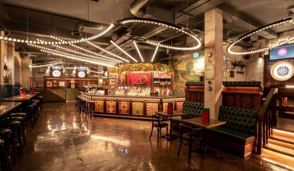 The Fairground-Inspired Darts Bar That's Perfect For Mates Dates