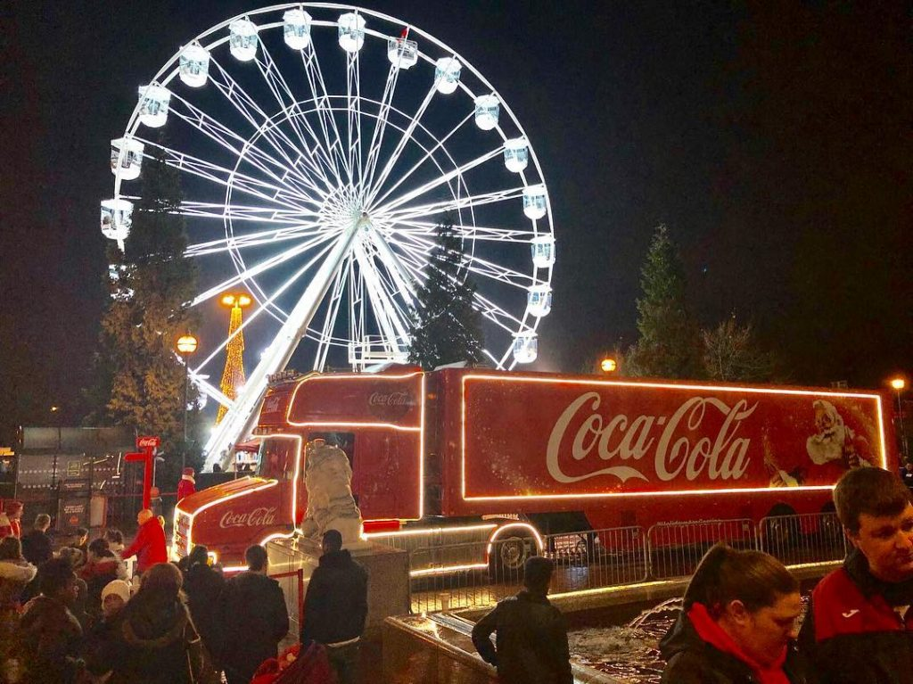 The Coca-Cola Truck Will Park Up In Manchester Next Month