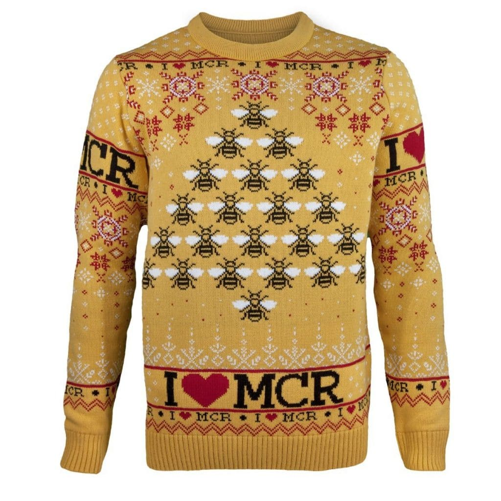 How To Get Your Hands On The Official Mancunian Christmas Jumper