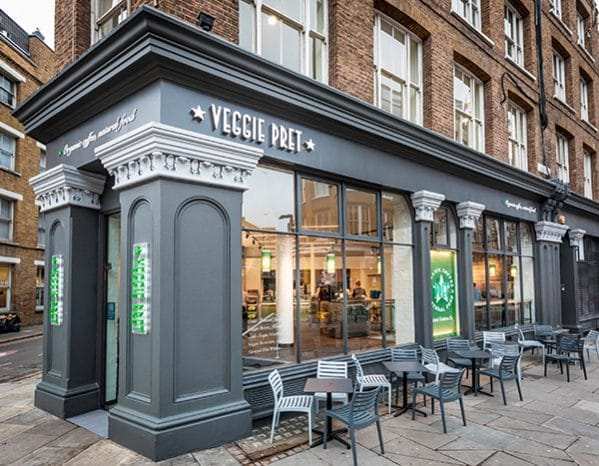 A Totally Vegetarian Pret A Manger Has Opened In Manchester