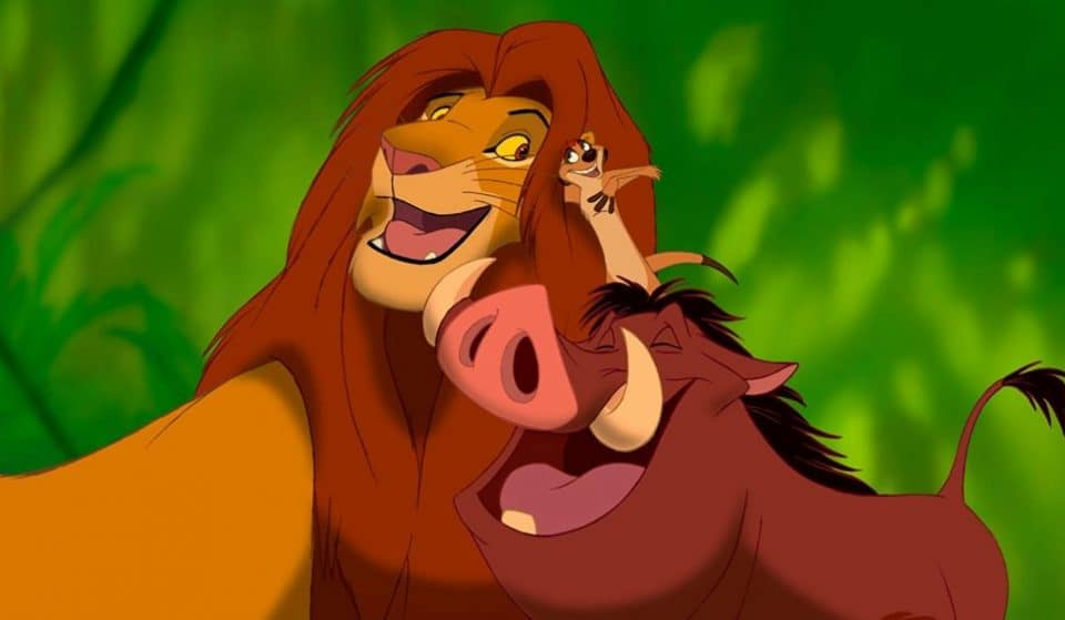 A Sing-Along Screening Of The Lion King With Bottomless Drinks Is Coming To Manchester