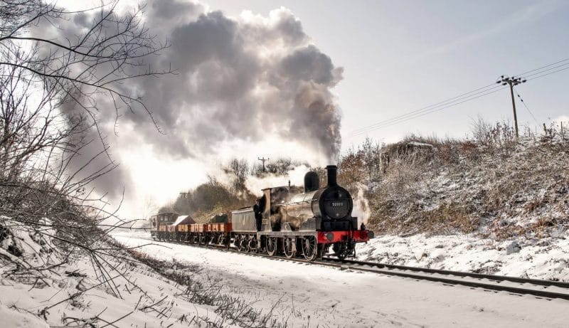 A Festive Steam Train Full Of Christmas Magic Is Now Running From Greater Manchester
