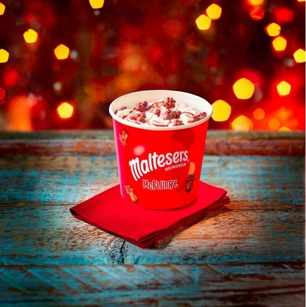 The New McDonald's Festive McFlurry Will Make You Wish It Could Be Christmas Everyday