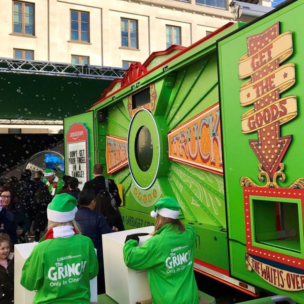 The Grinch Will Be Handing Out FREE Amazon Goodies In Manchester Today