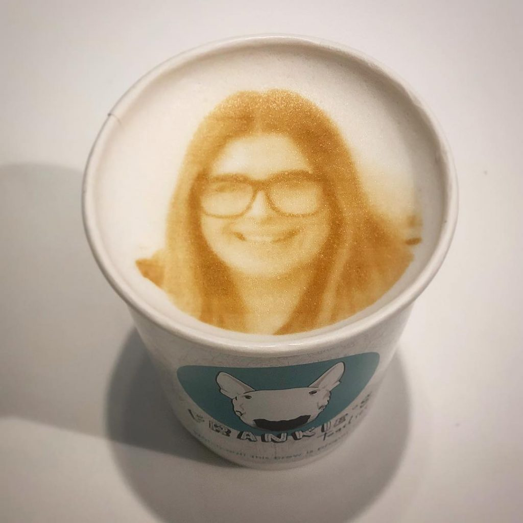 Coffee Lovers Can Get Their Face Printed On A Cappuccino At This Manchester Cafe