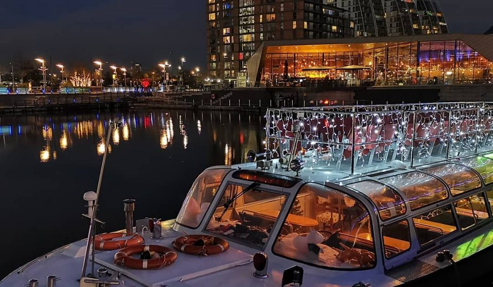 A Festive Ferry Full Of Christmas Magic Is Sailing Through Manchester