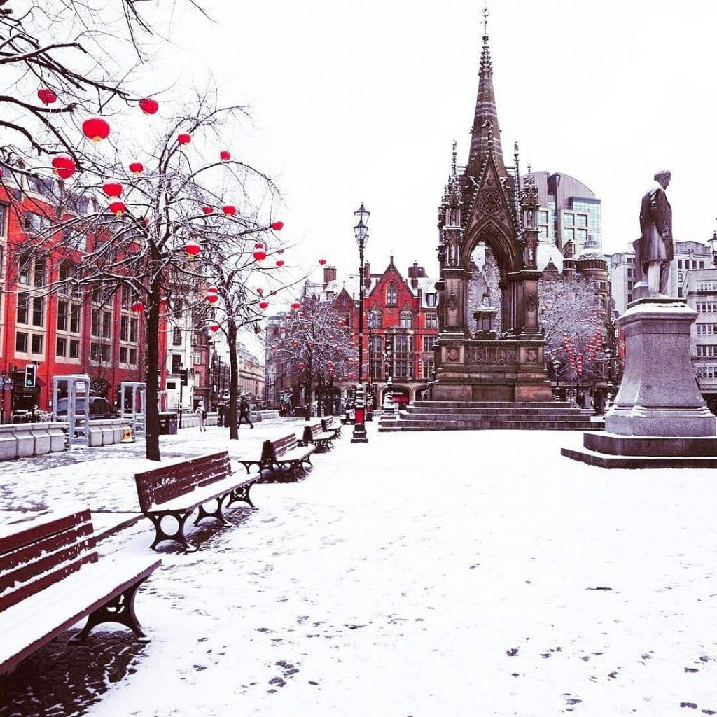 There Could Be Snow In Manchester This Weekend As Temperatures Are Set To Plummet