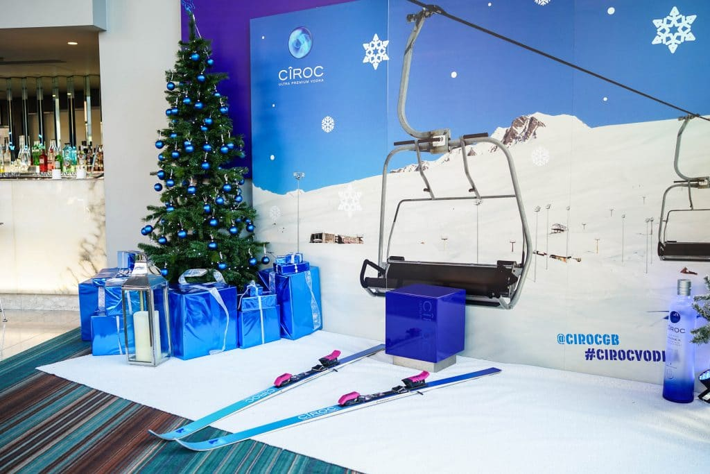 This Manchester Bar Has Been Transformed Into An Après Ski Lounge Where Guests Can Get A Ski Full Of Shots