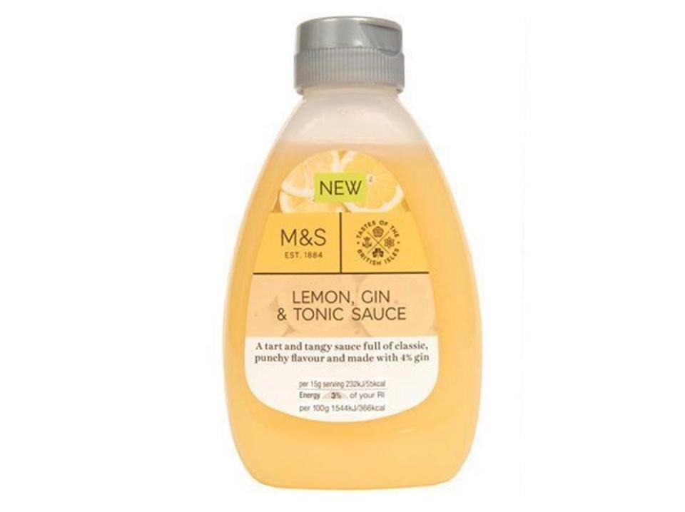Marks And Spencer Has Launched A Gin And Tonic Syrup For Pancake Day