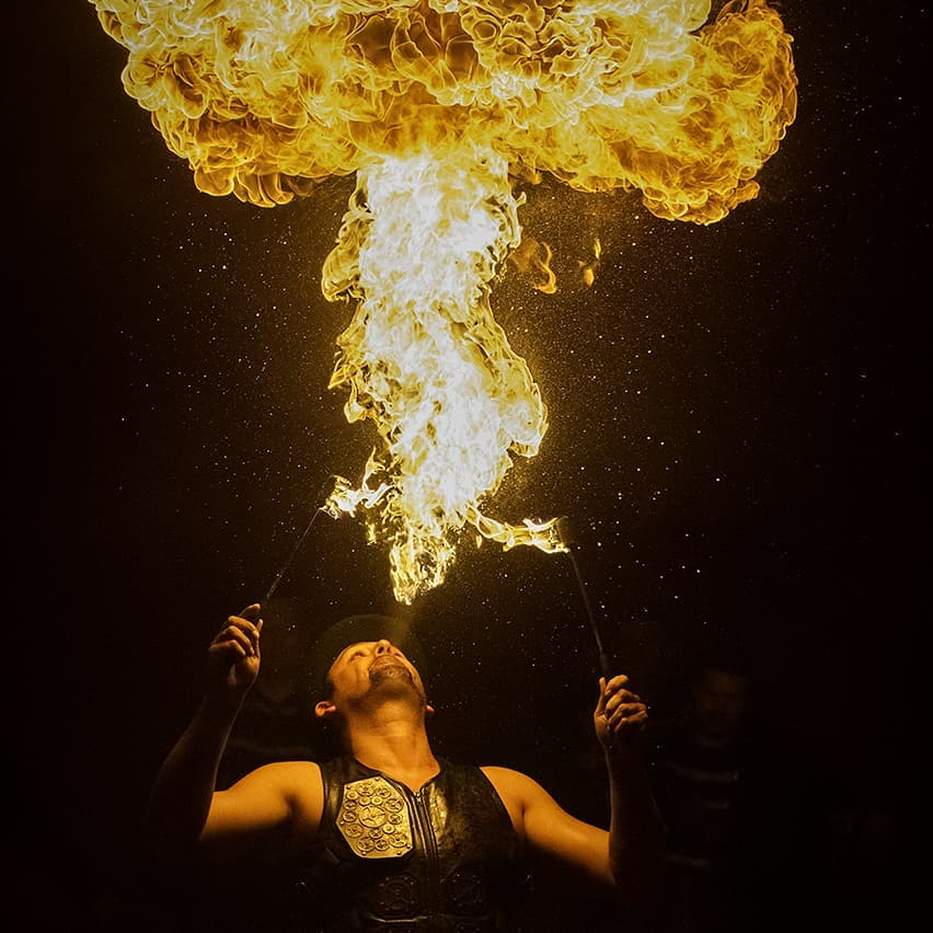 Circus Funtasia Is Bringing Acrobats, Fire Breathers And A 'Globe Of Death' To Manchester