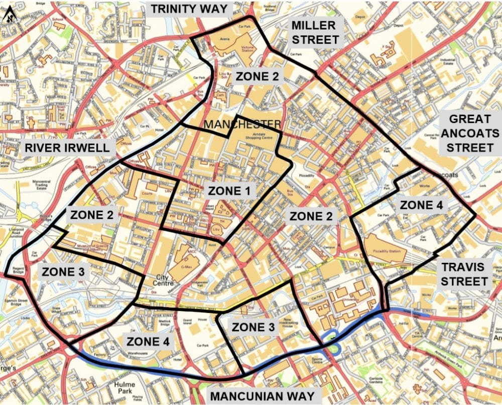 The Council Has Made Parking FREE In Manchester City Centre Areas As A Thank You For Putting Up With Road Works