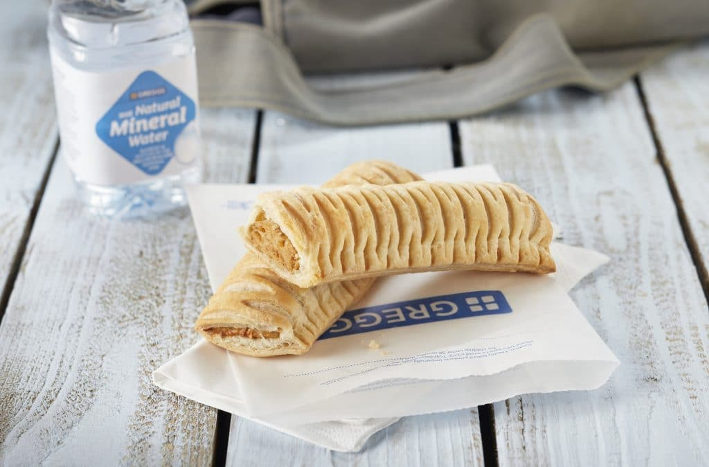 Greggs Has Launched A Vegan Sausage Roll