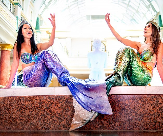 A Shoal Of Singing Mermaids Is Coming To The Trafford Centre