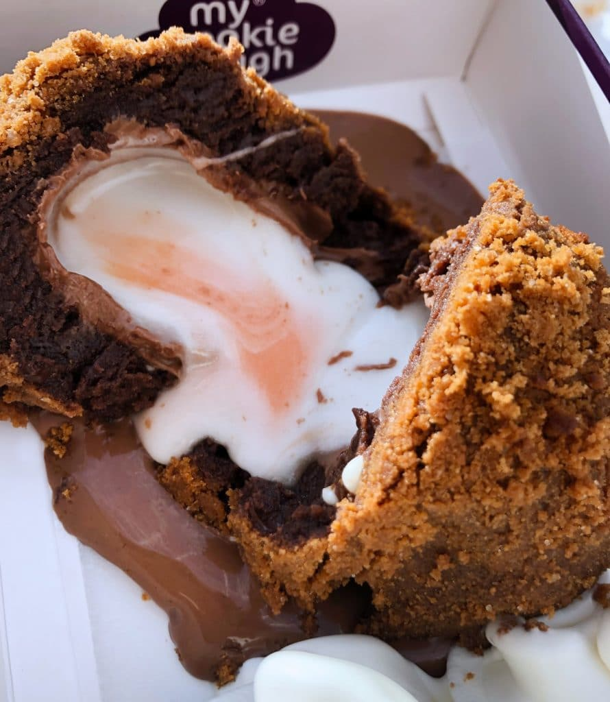 The Arndale's Cookie Dough Store Has Created Two Outrageously Indulgent Creme Egg Desserts For Easter