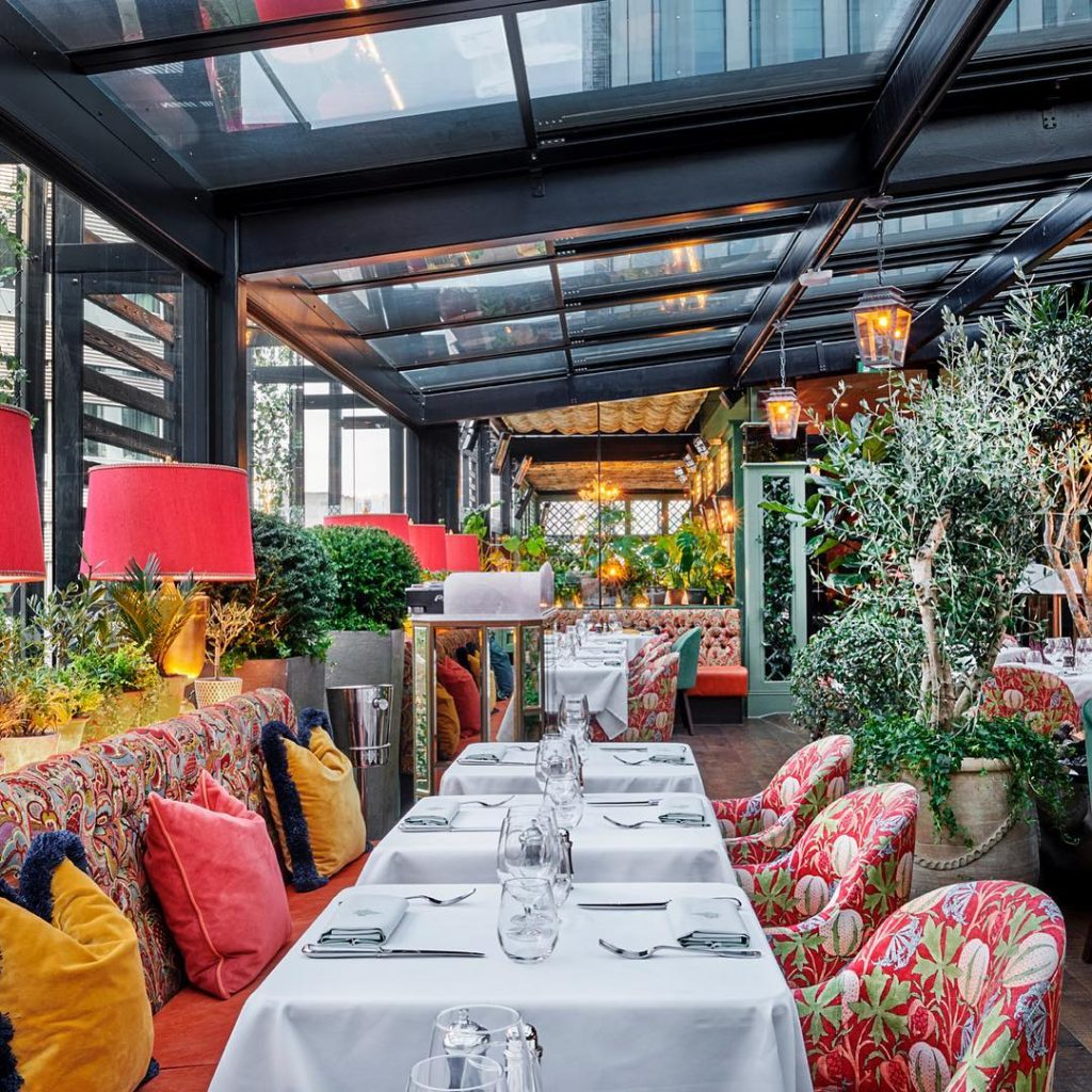 The Ivy Has Confirmed A Reopening Date For Its Roof Garden And Will Celebrate With A Circus-Themed Super Party
