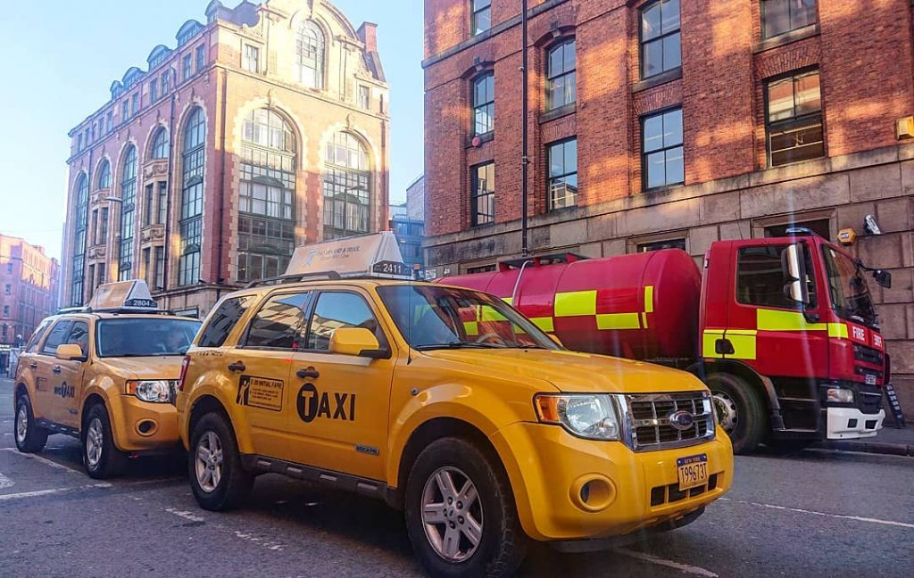 The Northern Quarter Has Been Turned Into A New York Film Set For Spider-Man Spin-Off Morbius