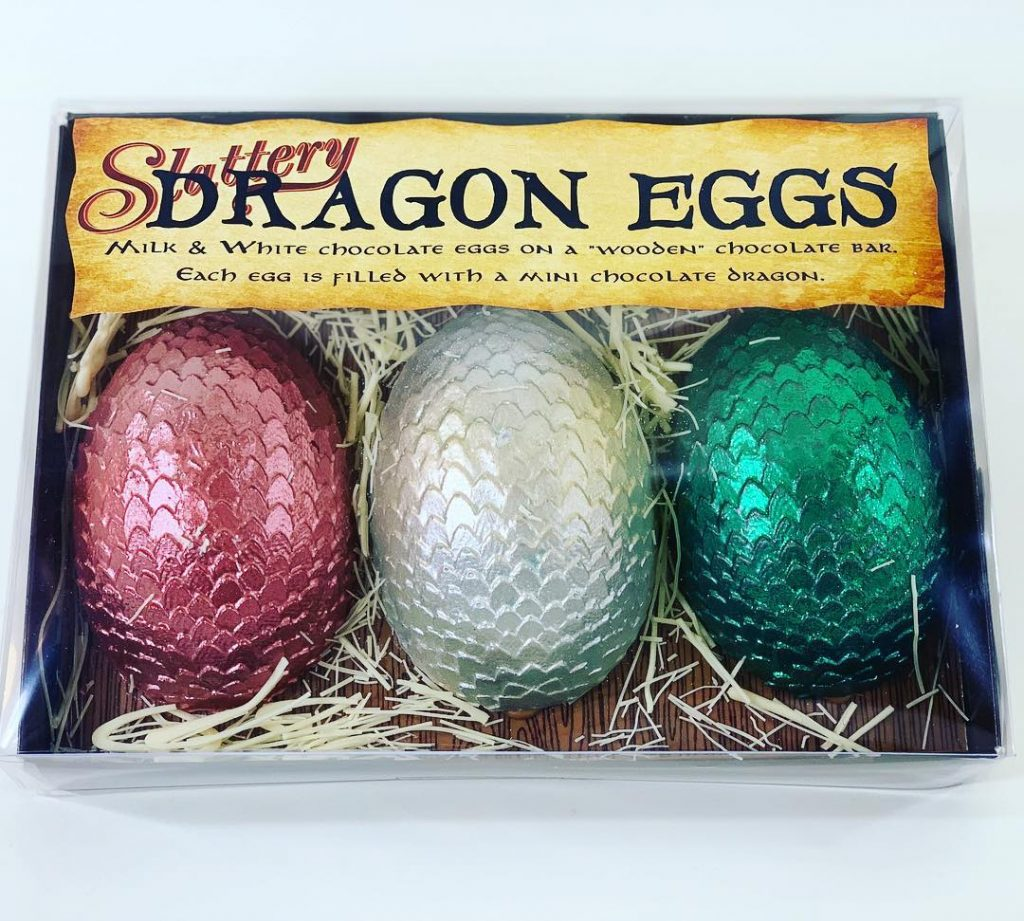 A Manchester Bakery Has Launched A Collection Of Harry Potter-Inspired Dragon Easter Eggs